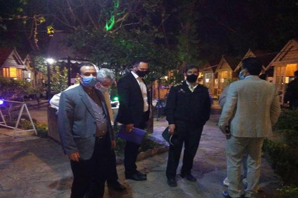 تعطیلی باغ رستورانها و تالارهای خانوادگی شهرستان ملارد در اولین روز از محدودیت های کرونایی