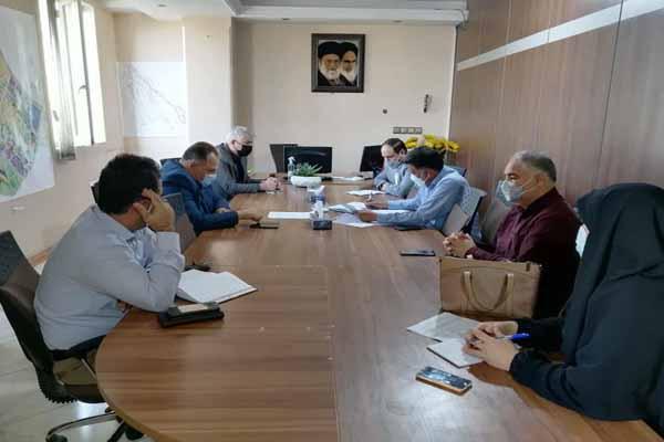 برگزاری جلسه هماهنگی و تبادل نظر جهت تمدید محدودیت های مشاغل گروههای ۲،۳،۴ در شهرستان ری