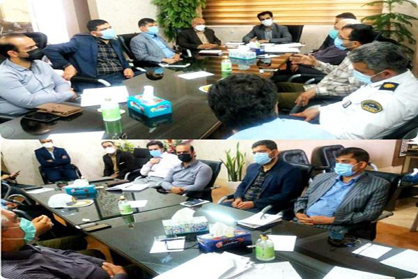 برگزاری هشتادمین جلسه کمیسیون نظارت بر واحدهای صنفی شهرستان قرچک